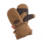 Frost River Great Northern Mittens are made for the harsh cold of the Minnesotan winter, so you know it'll work most anywhere. Durable waxed canvas with buckskin palms and Thinsulate® lining, plus gauntlet length cuffs mean you'll be ready when the temperature drops.