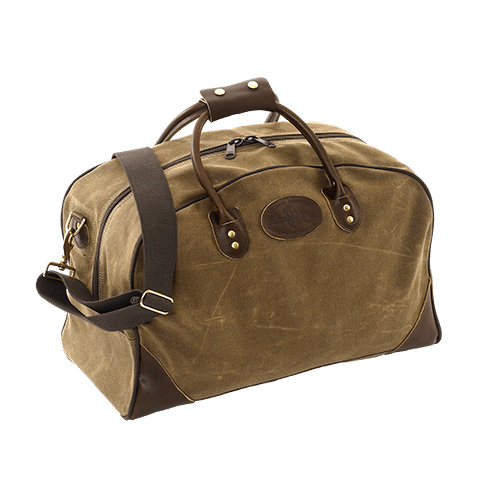 The Frost River Carry On Flight Bag (no. 65) is a classic piece of luggage handmade in Duluth, MN USA from premium waxed canvas, premium leather and solid brass hardware. Guaranteed for life and sized just right, it will serve you in your travels forever.