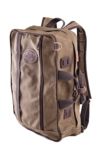 The Frost River Voyageur Backpack Brief is sized for every day carry, whether that's commuting to the office on planes, trains and automobiles, or paddling, biking, hiking or climbing. This pack is designed for versatility.