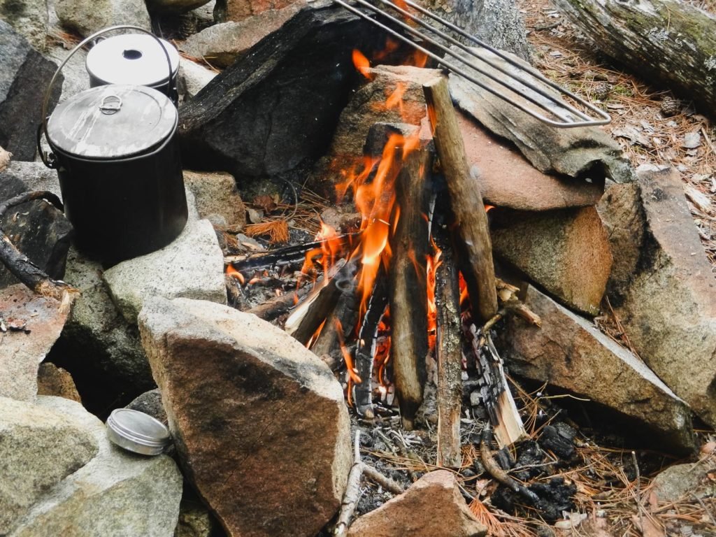 How To Light A Fire In The Field The Basics Frost River